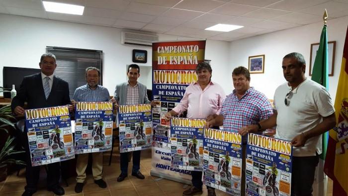 Presentación del Campeonato de España de Motocross en Montearagón