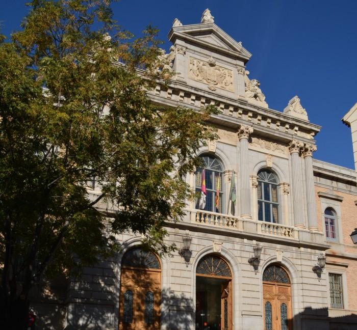 Fachada de la Diputación de Toledo