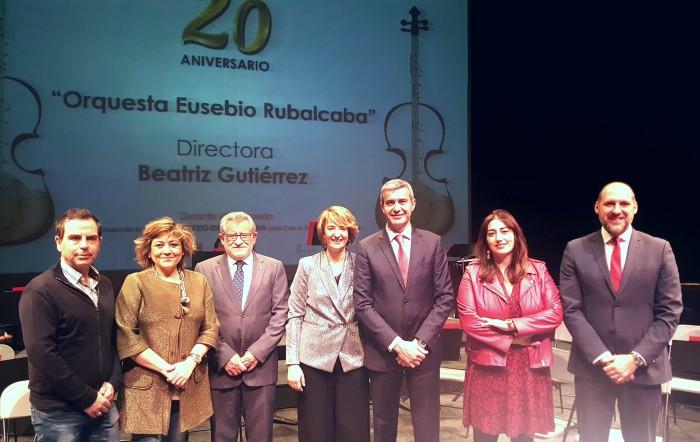 Álvaro Gutiérrez junto a Beatriz Gutiérrez, Ángel Felpeto y David Gómez
