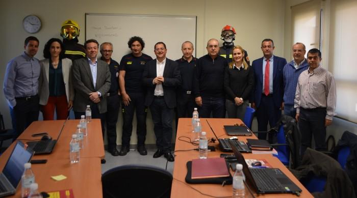 Tomás Villarrubia con miembros Consorcios de España