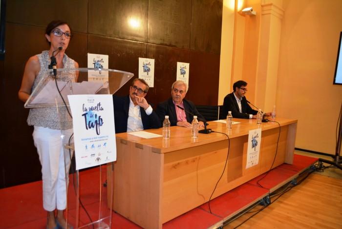 Ana Gómez interviene en la presentación de