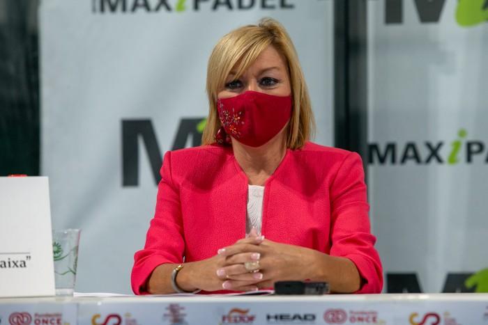 Intervención de María José Gallego en la presentación