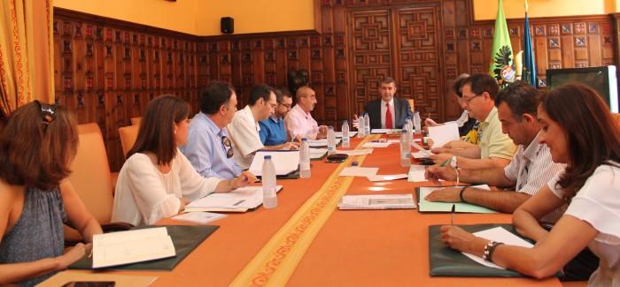 Imagen de archivo de reunión de la Junta de Gobierno