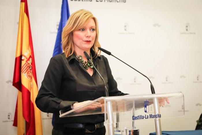 María José Gallego interviene en la inauguración