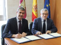 Álvaro Gutiérrez y Ángel Felpeto en una foto de archivo