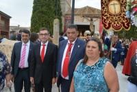 Fernando Muñoz en la procesión de las fiestas de Chueca