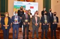 Representantes de las diputaciones y la Universidad regional