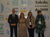 Álvaro Gutiérrez con los asistentes a la inauguración de las jornadas