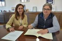 Flora Bellón y Santiago Ramos
