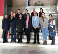 María Ángeles García recibe delegación china