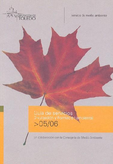 Guia de servicios. Divulgación y formación ambiental 2005-2006