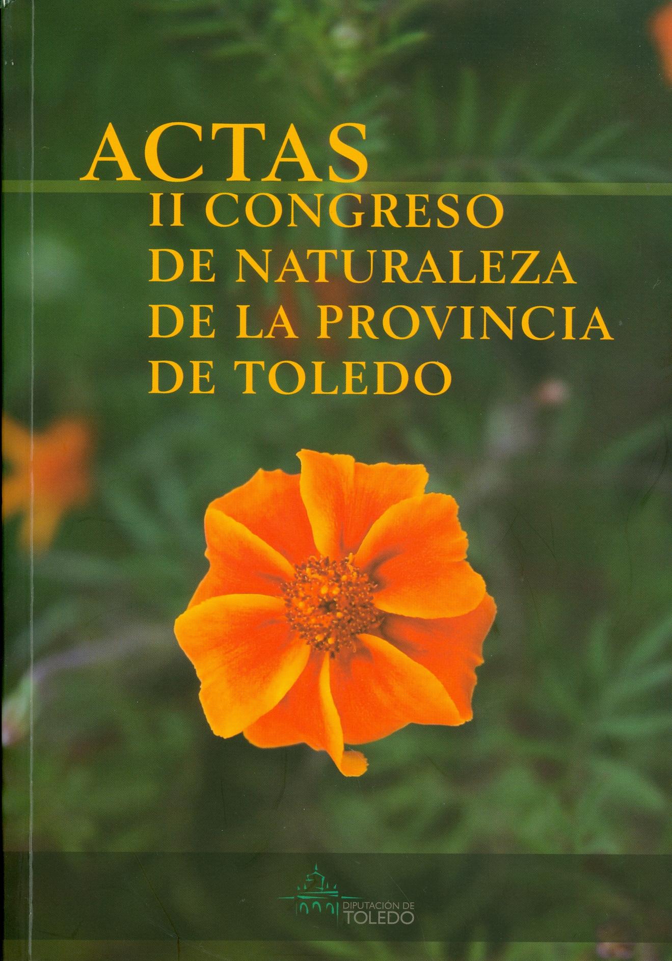 Actas II congreso de naturaleza de la provincia de Toledo