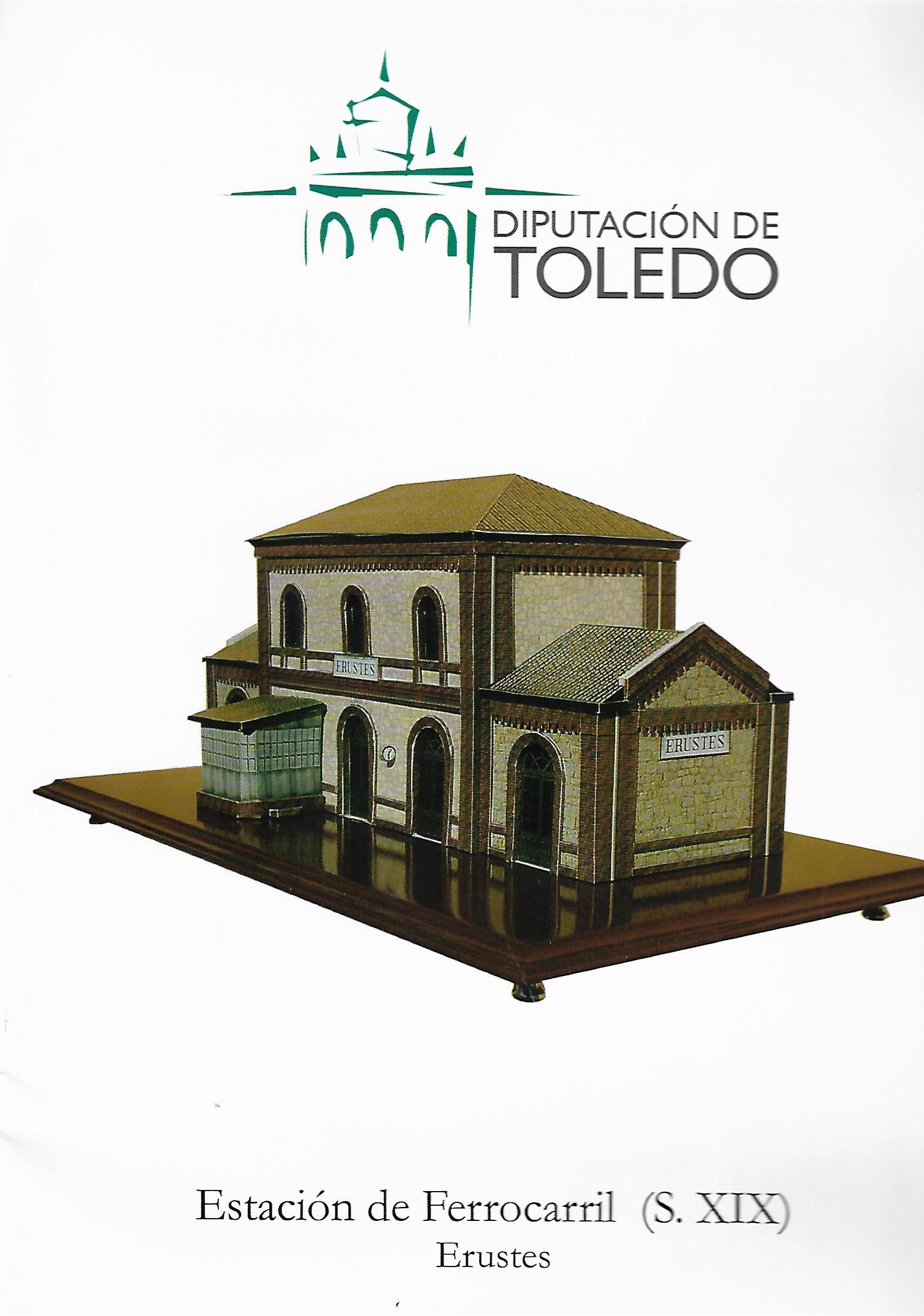 Estación de ferrocarril (siglo XIX). Erustes. Edición infantil